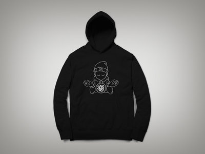 AT PEACE HOODY / BLACK main photo