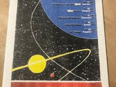 2018 Interplanetary Risograph Tour Poster photo