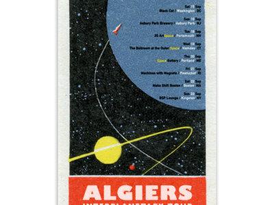2018 Interplanetary Risograph Tour Poster main photo