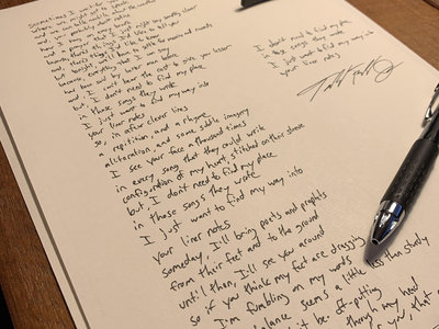 Handwritten Lyrics main photo
