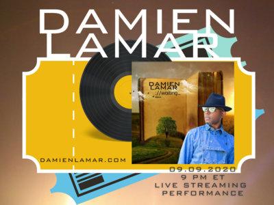 Ticket to Damien Lamar  Album Release Listening Party on 09.09.2020 main photo