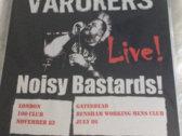 The Varukers - Noisy Bastards Live LP photo