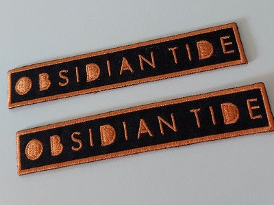 Obsidian Tide Embroidered Patch main photo