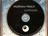 Matthew Welch: Luminosity CD (Porter Records 4037) photo