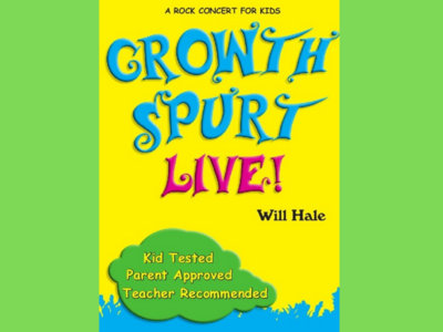 Growth Spurt Live! Will Hale Rock Concert For Kids main photo