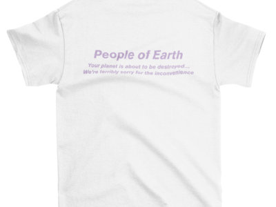 "TerrorVision ""People of Earth"" T-shirt main photo"