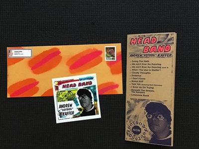 Head Band sticker & zine main photo