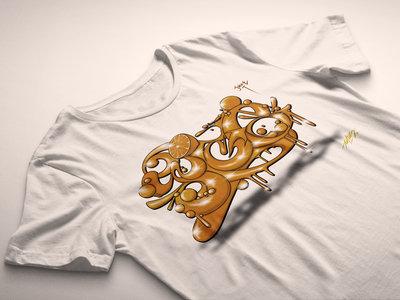 ED808 Collaboration Design T-Shirt (White) main photo