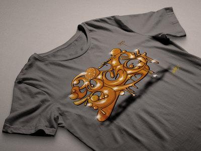 ED808 Collaboration Design T-Shirt (Grey) main photo