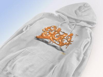 ED808 Collaboration Design Hoodie (White) main photo