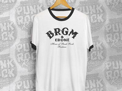 """Ringer T-shirt """"BRGM & Edoné"""" main photo"""