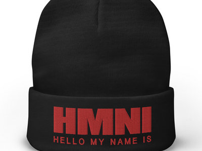 HMNI EMBROIDERED BEANIE main photo