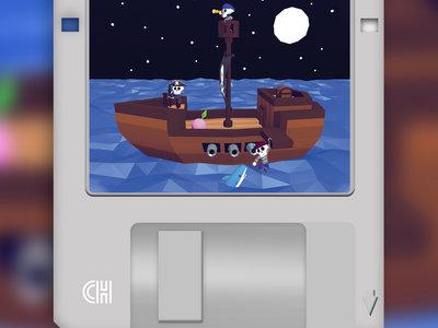 "Stevia Sphere - Software Piracy 3.5"" Floppy Disk main photo"