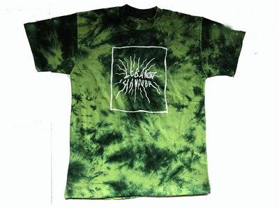 Sci Fi Sky Tie Dye/batik Shirt green/white ( READ description !! ) main photo