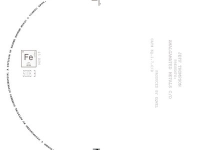 "Eqwel Presents: Amalgamated Metals C/D by Jeff Thompson - 7"" Vinyl New Release main photo"