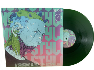 "Full color, double sided sleeve 12"" Vinyl main photo"