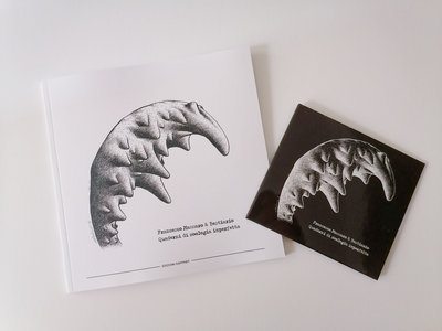 Quaderni di zoologia imperfetta – Special Price Bundle: Enhanced Compact Disc + Limited Edition Art Book + DL main photo