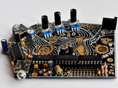 Fort Processor synth - fully built circuit, deluxe Black & Gold version photo