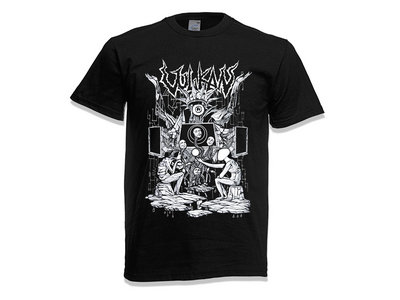 """This Visual Hex"" Black T-Shirt main photo"