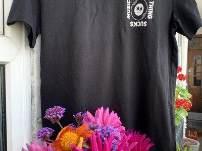 Everything Sucks Logo T-shirt (Black) main photo