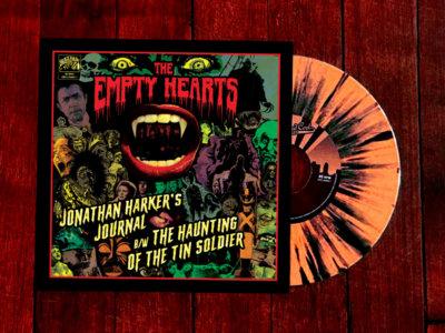 A: Jonathan Harker's Journal / B: Haunting Of The Tin Soldier (Orange and black splatter vinyl) main photo