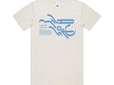Mineral T-shirt - Natural/Blue main photo