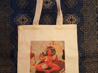 Original Artwork Canvas Tote Bag - Design B main photo