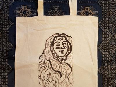 Original Artwork Cotton Tote Bags - Design C main photo