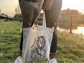 Original Artwork Cotton Tote Bags - Design C photo