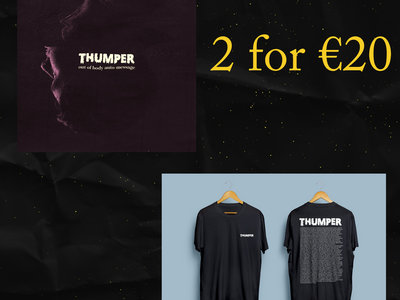 Limited Edition Topher Grace T-shirt & Vinyl Bundle deal main photo