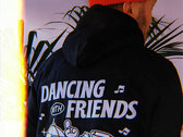 Dancing With Friends Hoodie - Black photo