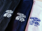Dancing With Friends Tshirt - White photo