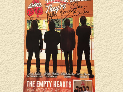 They're Back signed poster main photo