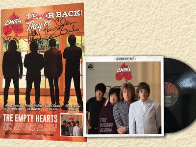 Second Album Vinyl + Signed Poster bundle main photo