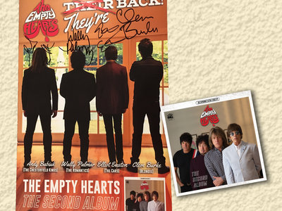 The Second Album CD + Signed Poster bundle main photo