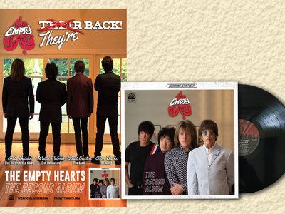 The Second Album Vinyl + Poster bundle main photo