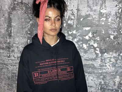 2Lanes R Rated Hooded Sweatshirt main photo