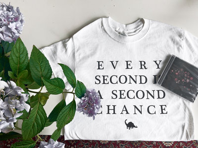 Every Second is a Second Chance T-shirt/Hooray! for Happiness CD & download bundle main photo