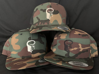 Camo Snapback Hats with Embroidered Logo main photo