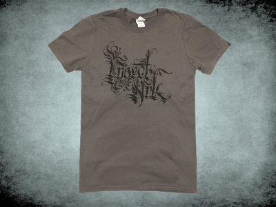 Calligraphy Logo T Shirt - Grey main photo