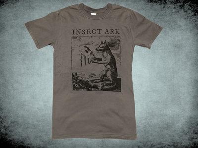 """Fox"" Engraving T Shirt - Grey main photo"