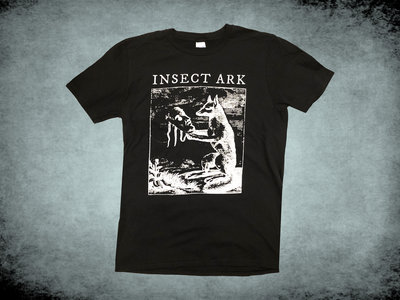 """Fox"" Engraving T Shirt - Black main photo"
