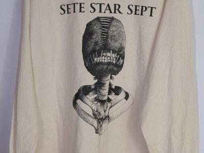 "SETE STAR SEPT ""Torture Machine"" Long Sleeve - White main photo"