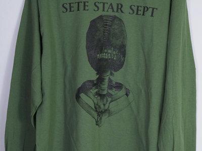 "SETE STAR SEPT ""Torture Machine"" Long Sleeve - Dark Green main photo"