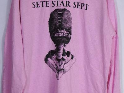 "SETE STAR SEPT ""Torture Machine"" Long Sleeve - Pink main photo"