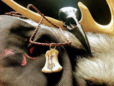 Small Deer Bone Necklace 003 main photo