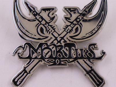 Axes with Logo Metal Pin main photo