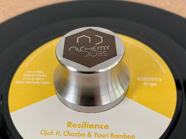 "Ojah feat. Chazbo & Yuuri Bamboo - Resilience /Resilience Dub (ALDBS7012) 7"" vinyl main photo"