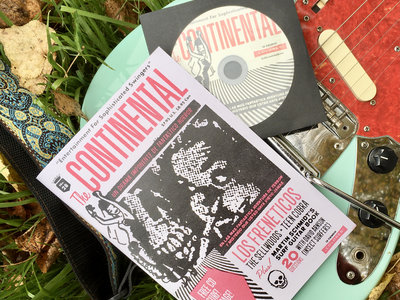 Continental Magazine No. 28 w/ CD surf compilation main photo