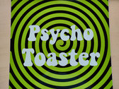 Psycho Toaster - Toaster Sticker photo